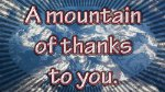Mount of Thanks